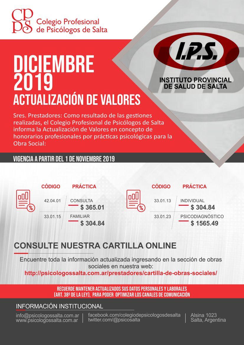 Actualizacion IPSS