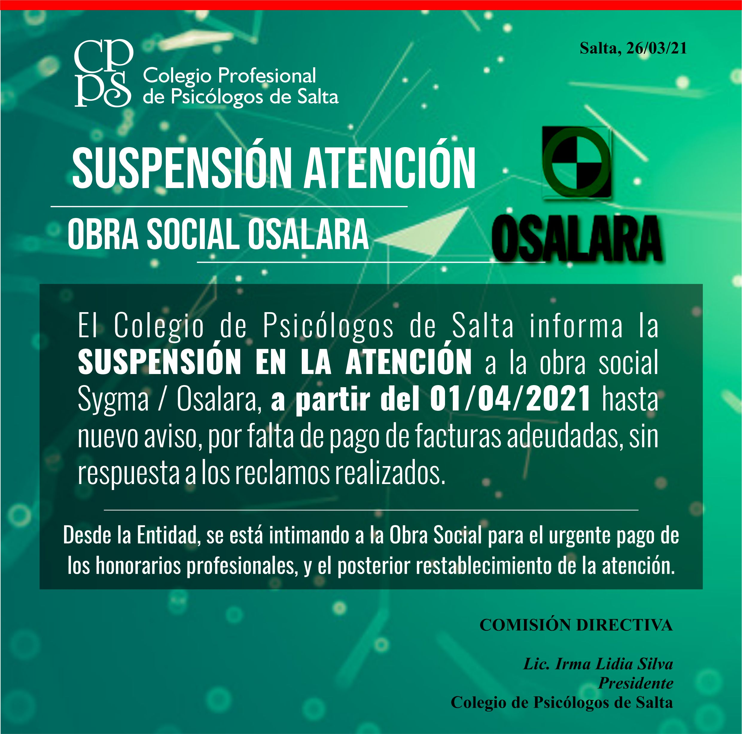 suspension osalara